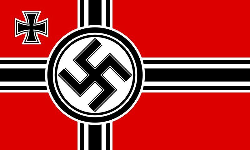 La Bandera de Guerra del 3° Imperio Alemán era la siguiente, sin embargo existe un problema:
