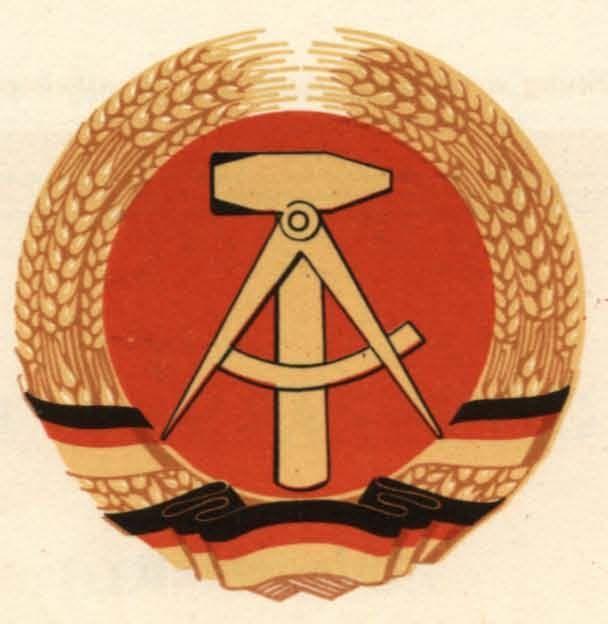 ¿Cuáles eran las siglas en alemán para Alemania Oriental (1949-1990)?