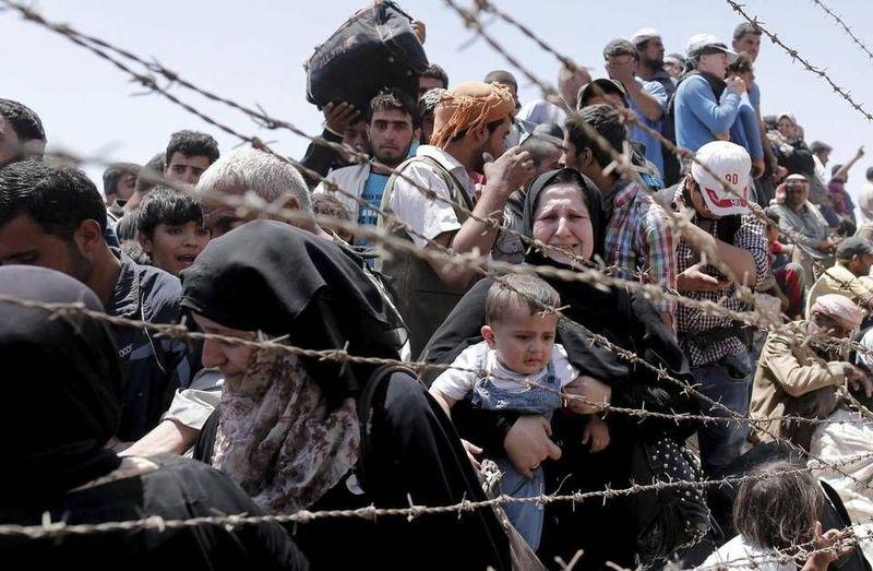 Los refugiados son....