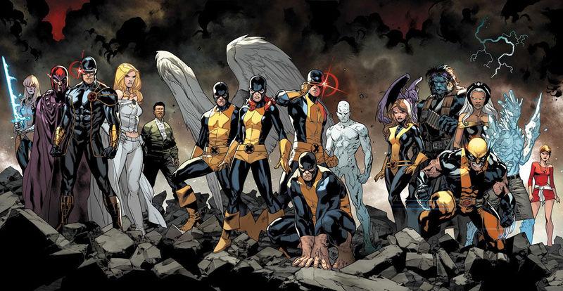 19433 - Personajes de los X-men