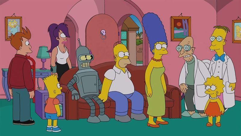 19519 - ENCUESTA: ¿Los Simpsons o Futurama?