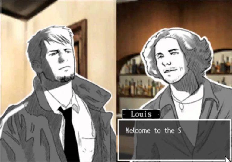¿De dónde se conocen el protagonista y Louis?