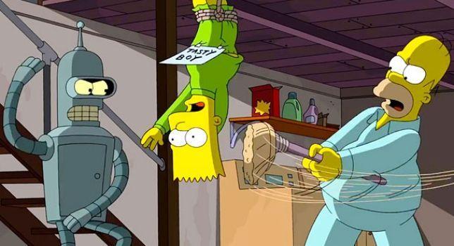 ¿Bart Simpson o Bender Rodríguez?