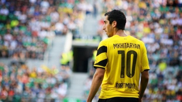 Nombre de Mkhitaryan