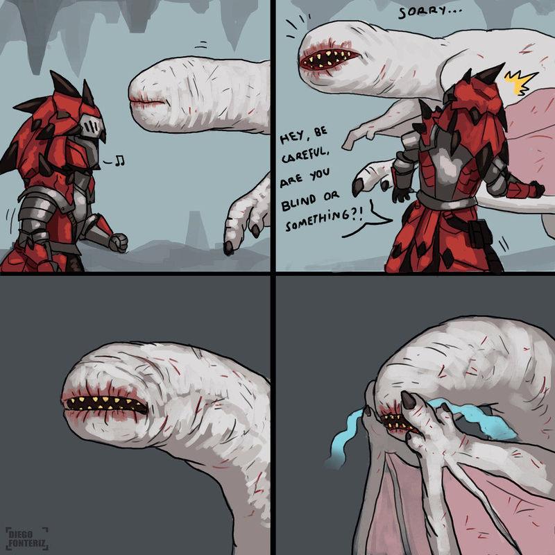 Empezemos con una sencilla; El khezu es un monstruo ciego,¿Dónde suelen vivir éstas criaturas?