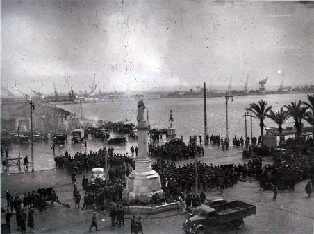 Batalla de Barcelona. Los monárquicos han conquistado el sur de Cataluña y están a las puertas de Barcelona.