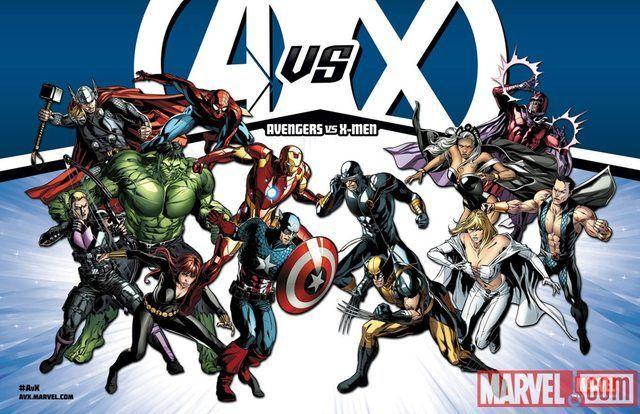 ¿Por qué causa se enfrentan los Vengadores contra la patrulla X?