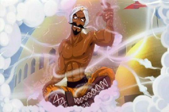 ¿Qué poderes elementales usa Great Tiger para volver a enfrentarse a Mac?