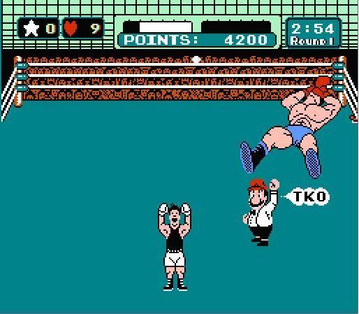 Y, excluyendo a estos, ¿cuántos no aparecieron en la versión de la NES?