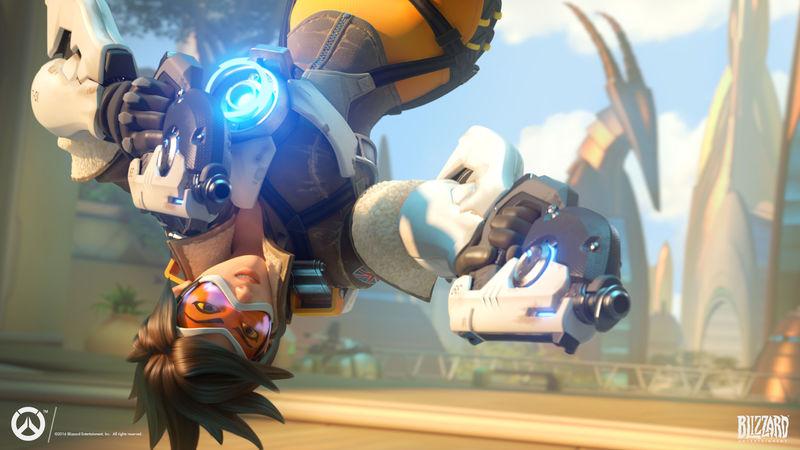 Sabiendo que hay una Tracer en el equipo enemigo, ¿qué héroe usarías para contrarrestarla?