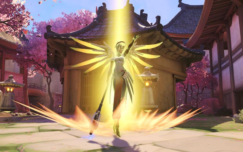 Acabáis de eliminar al equipo enemigo pero una Mercy aparece por sorpresa y los revive a todos. ¿Cómo reaccionas?