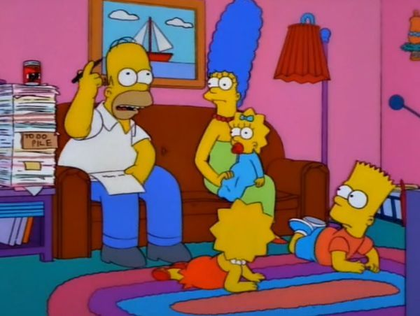 Marge, ¿cuántos hijos tenemos?