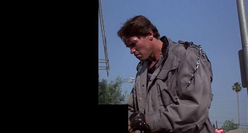 ¿Qué hay justo al lado de Terminator en Terminator?