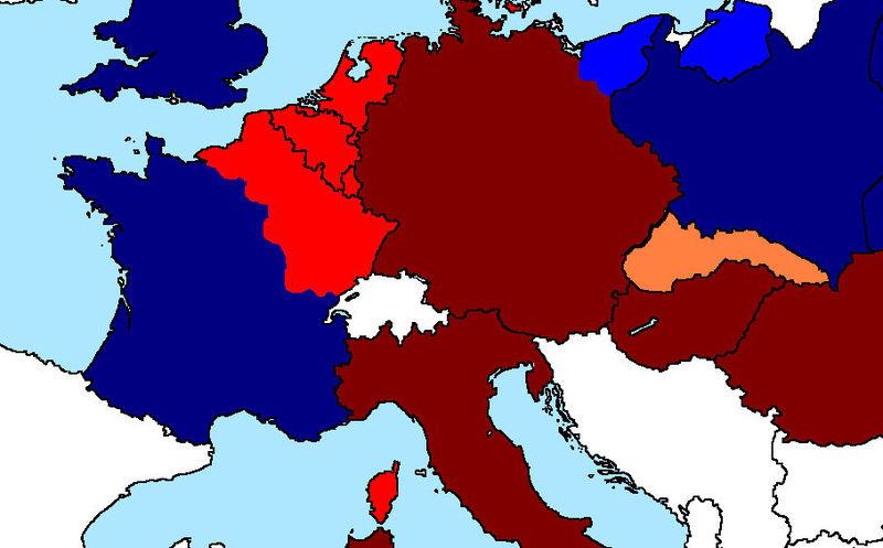 Tus soldados se han debilitado bastante y tardarán más en conquistar Francia. Polonia ha pasado a la ofensiva.
