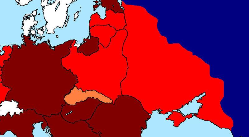 Tu conquista de Francia ha sido un éxito y tus tropas se han puesto con la URSS a por todas.