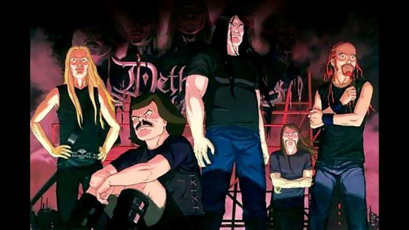 19704 - Fans de Metalocalypse (Dethklok)