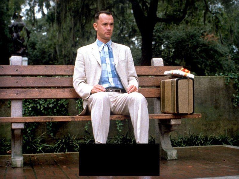 ¿Qué tipo de calzado lleva Forrest en Forrest Gump?