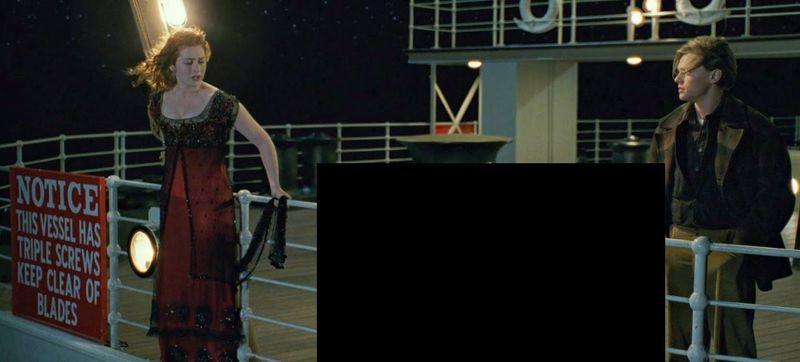¿Qué hay entre Rose y Jack en Titanic?