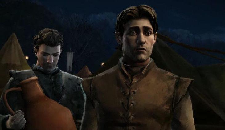 ¿Cómo se llamaba el escudero Forrester que estuvo junto a Gared en la boda roja?
