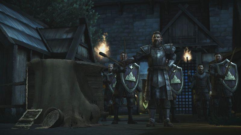 ¿En dónde se encontraba Gryff antes que Ramsay le ordene dirigirse hacia Ironrath?