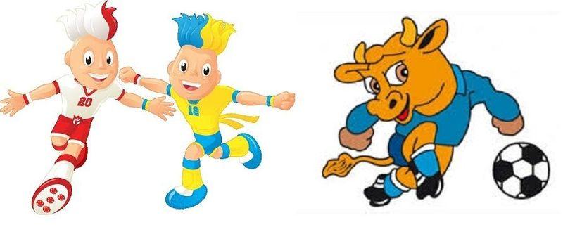 19792 - ¿Conoces los nombres de estas mascotas de la Eurocopa y de la Copa América?