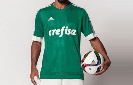 Primera equipación de un club brasileño