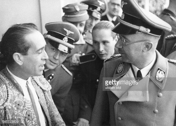 En la visita de Himmler a España, se le organizó una corrida de toros en su honor, ¿que opinión tenian los nazis de los toros?