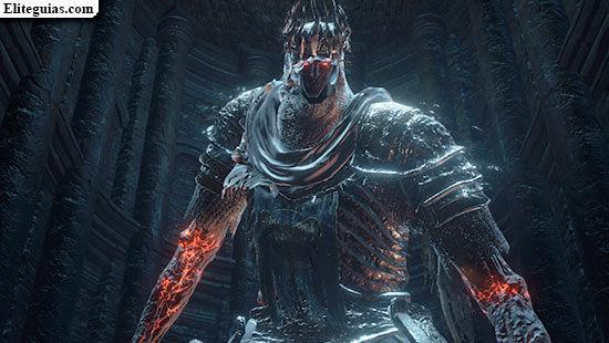 ¿Qué necesitas para dañar a Yhorm el gigante?