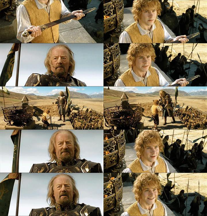 Hora de cabalgar hacia Minas Tirith. ¿Tu también irás, Merry?