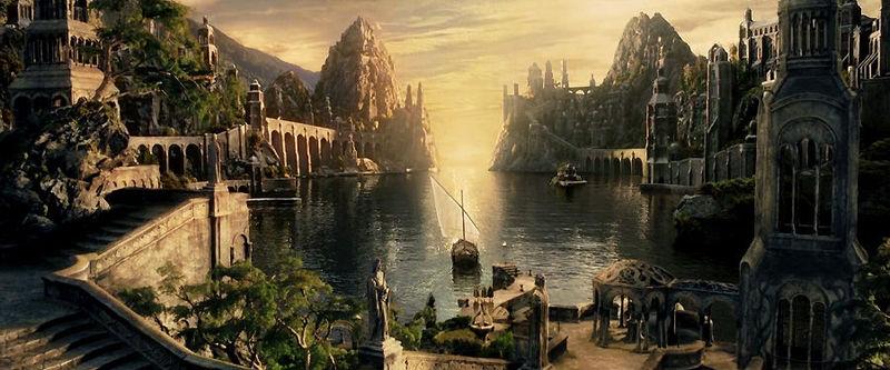 Todo ha terminado, Frodo. Sube al barco.