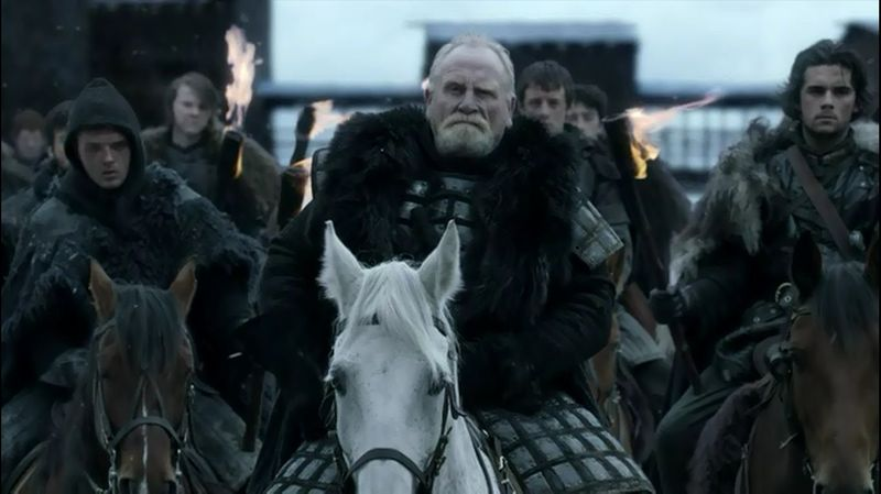 ¿Cómo muere Jeor Mormont?