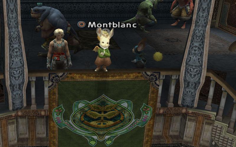 Vaan se ha escapado y ha buscado refugio en la sala de su clan. ¿Organizas una guerra de clanes?