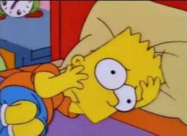 ¿Qué forma tenía la cuna que Homer le fabricó a Bart?