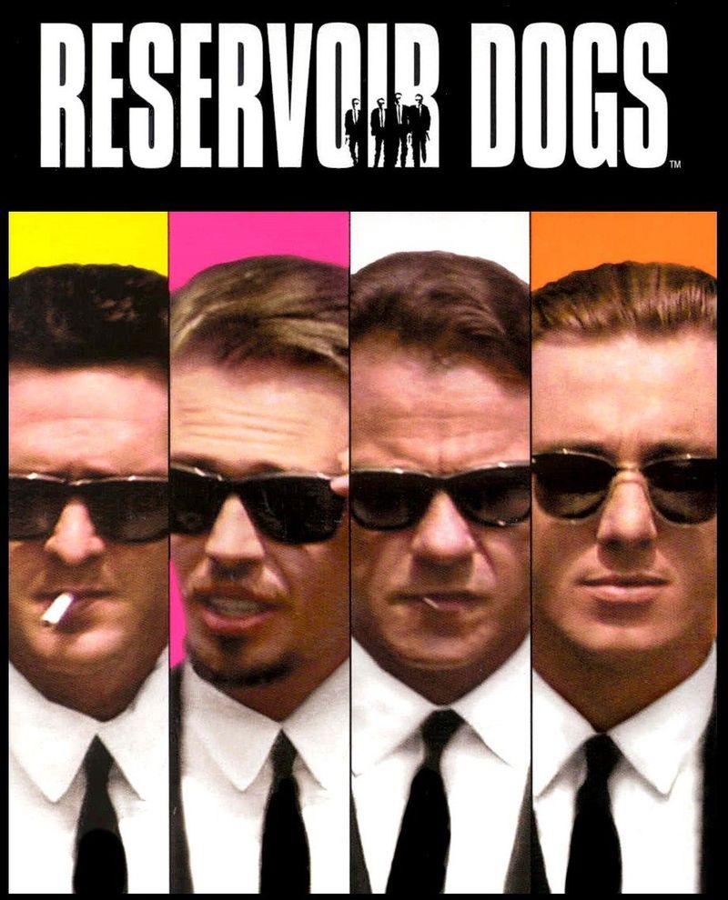 Ahora vamos con la película... ¿Cuáles son los apodos de los Reservoir Dogs?