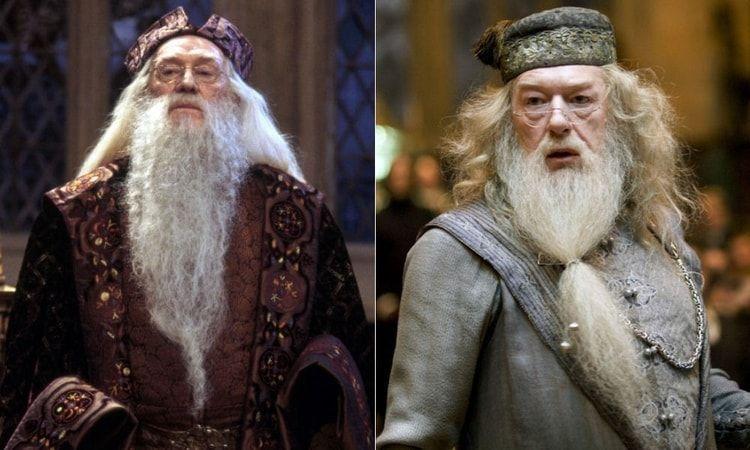 ¿En qué película interpretó Michael Gambon a Dumbledore por primera vez?