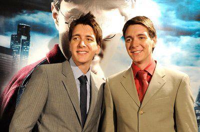 ¿Cómo se apellidan los actores que interpretan a los gemelos Weasley?