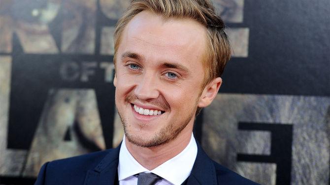 ¿Para qué papel se presentó Tom Felton (actor de Draco Malfoy)?