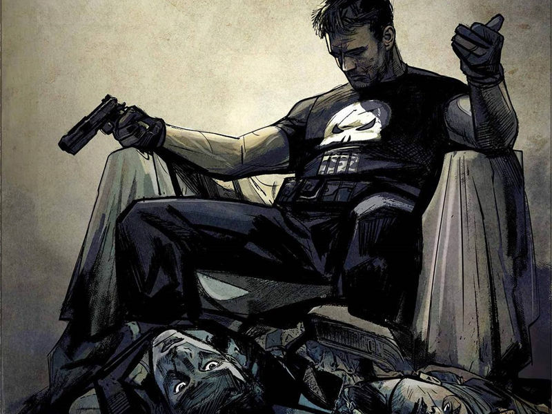 ¿Cuántos hijos tenia Frank Castle antes de convertirse en The Punisher?
