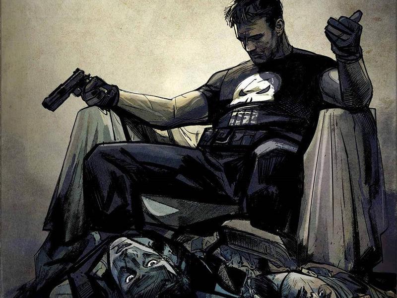 ¿Cuántos hijos tenia Frank Castle antes de convertirse en The Punisher?