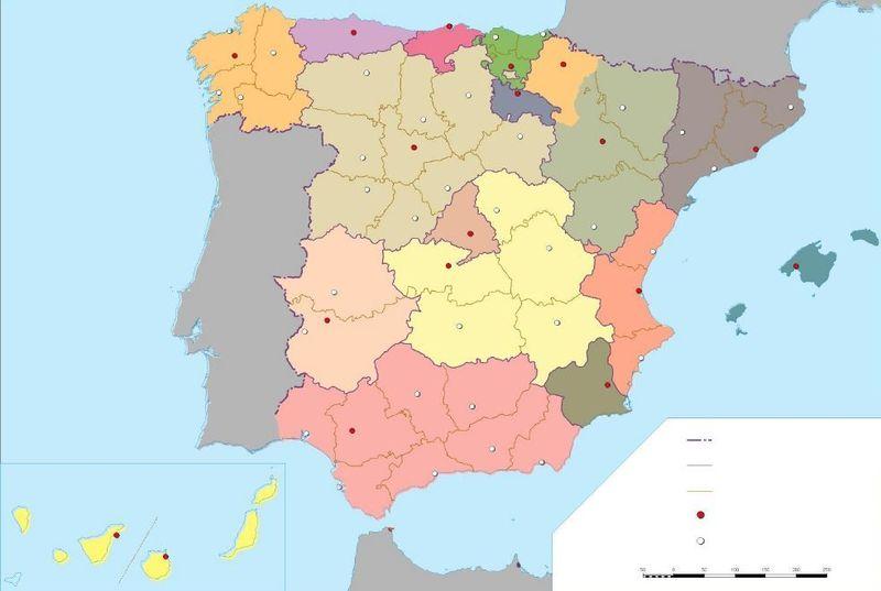 20058 - ¿A qué provincia española pertenece cada localidad?