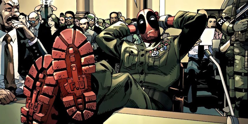 Deadpool se hace pasar por un día por otro héroe, mediante un holograma, ¿Por quién se hace pasar?