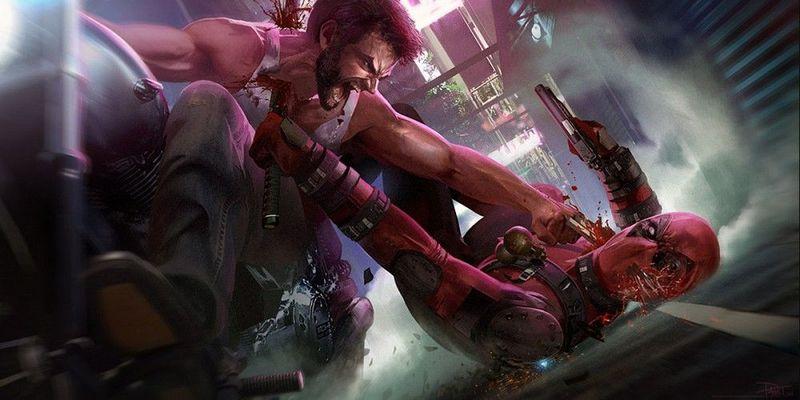 Durante un combate, Deadpool imita un golpe característico de otro personaje ajeno a Marvel, ¿Cuál es?