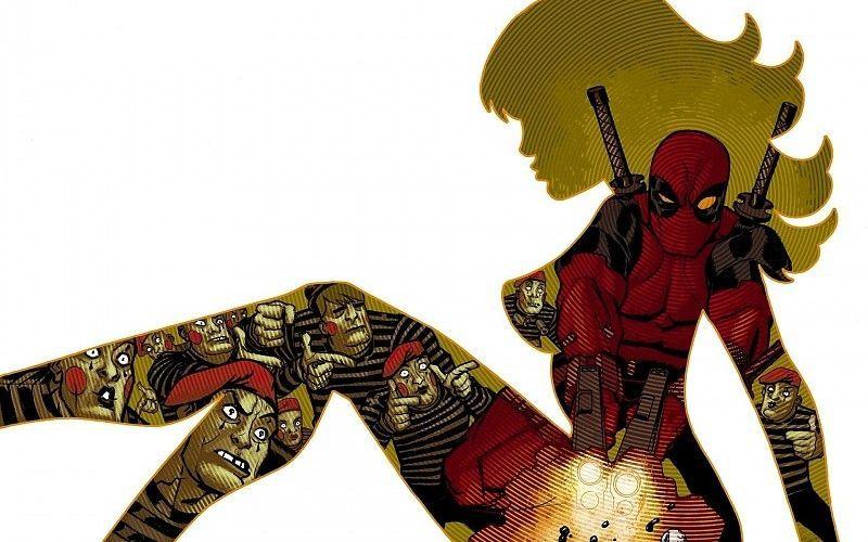 ¿A quién le roba la prometida Deadpool?