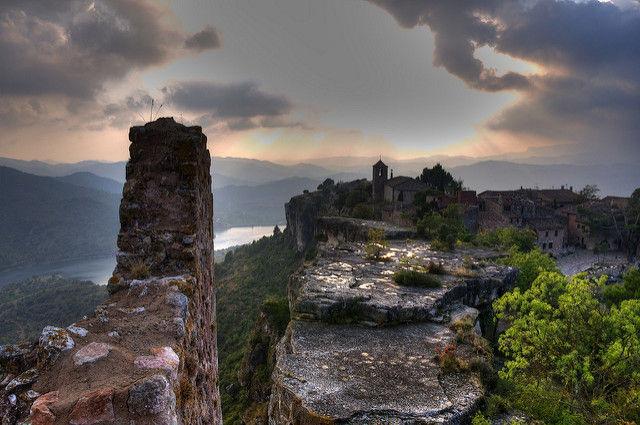 ¿Y este pequeño pueblo medieval?