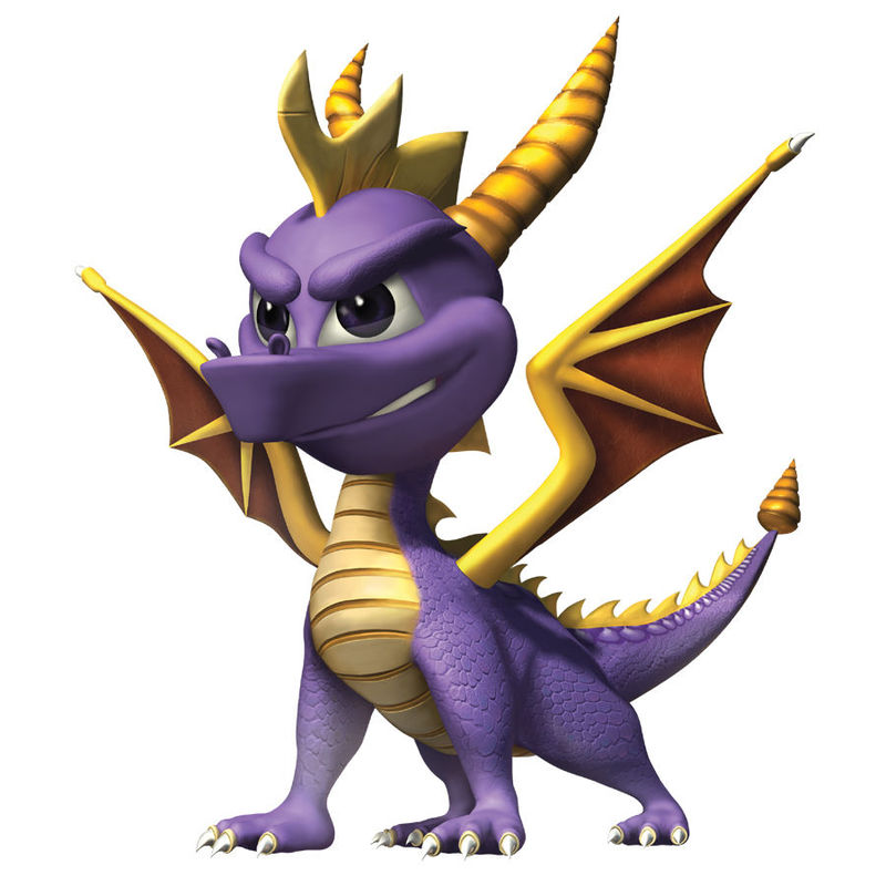 ¿Por qué no afecta el hechizo a Spyro?