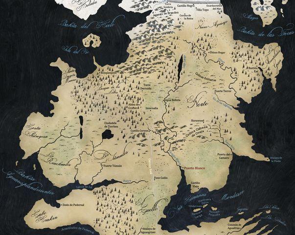 20203 - Casas de Canción de Hielo y Fuego- El norte y mas allá del muro