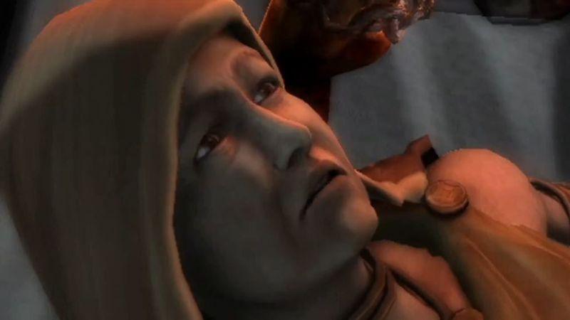 ¿Que le sucedía a Calisto si le contaba la verdad a alguien sobre el padre de Kratos?