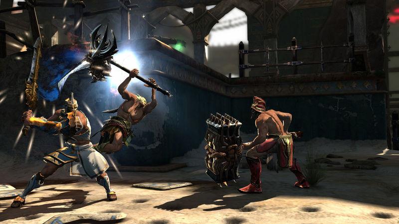 ¿Cuál es el primer arma que se utiliza en God of War Online?