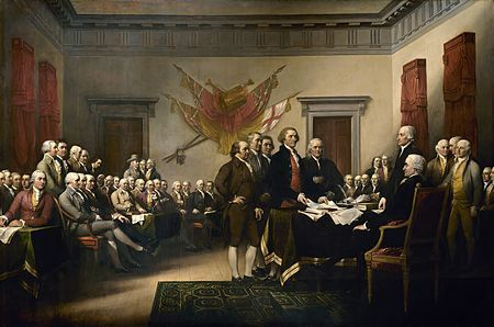 Fecha de independencia de Estados Unidos