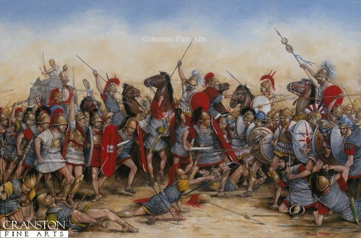 Cuando llegas a la arena, ves que te tocará pelear contra varios cartagineses, africanos e iberos